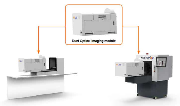 Stand alone optical and Optical/CT imaging system