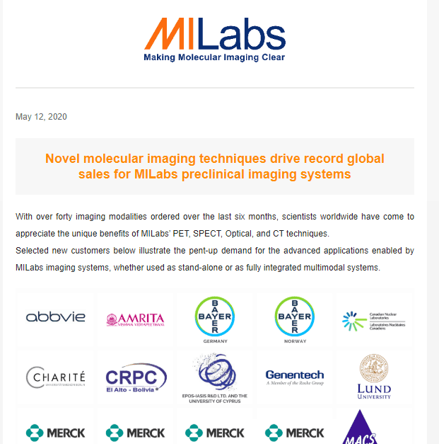 micro-PET, micro-SPECT, preclinical imaging, small animal imaging