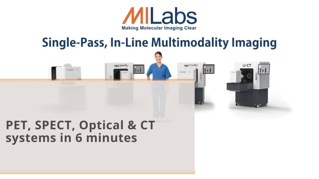 MILabs pet spect optical and ct