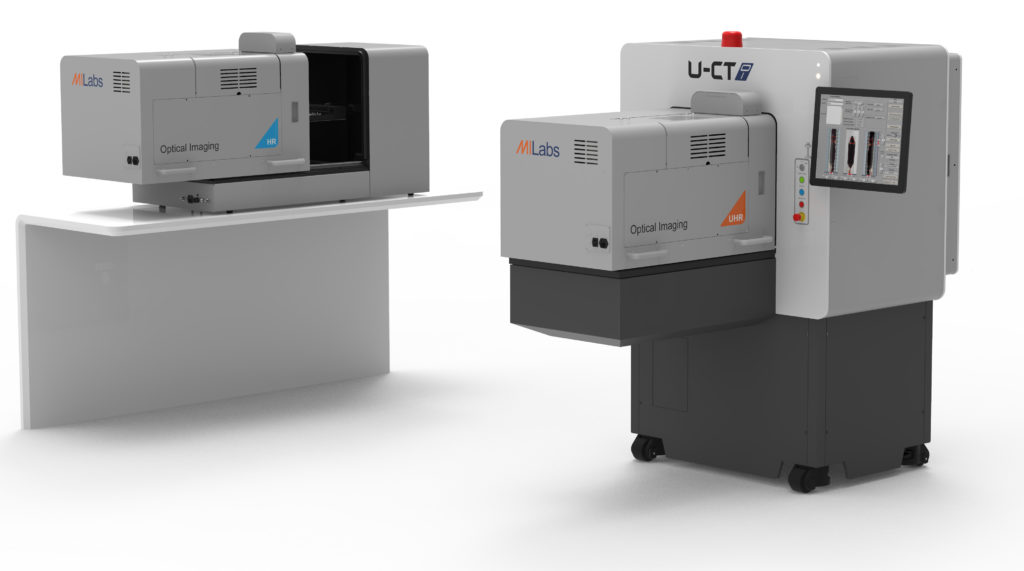 micro CT combined with optical imaging system and optical imaging with a docking station